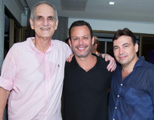 Nelson Wainer, André Serra e Matias Pinheiro