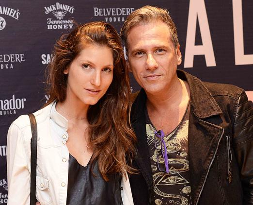 Nina Paccaud e Marcelo Faustini