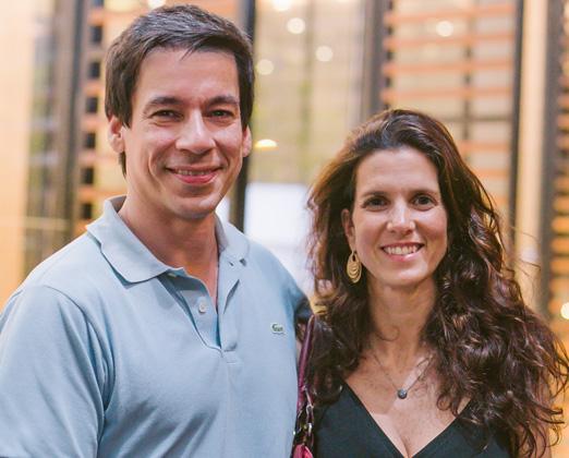 Phillip Bendenoun e Roberta Suplicy