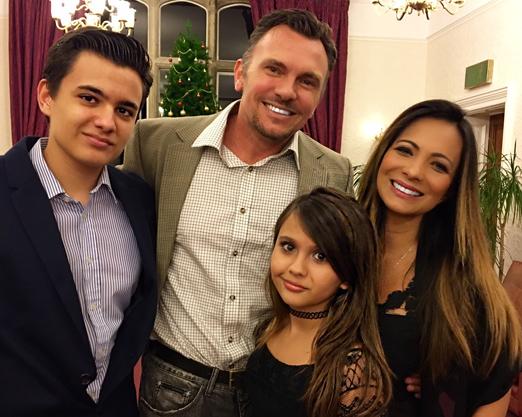 Quentin, Marcia e os filhos Max e Mariana