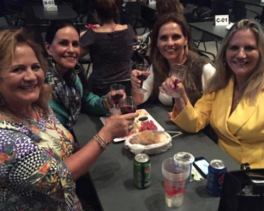 Renata, Beth, Norma e Maninha