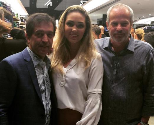 Ricardo Almeida, Tania Mara e Jayme Monjardim