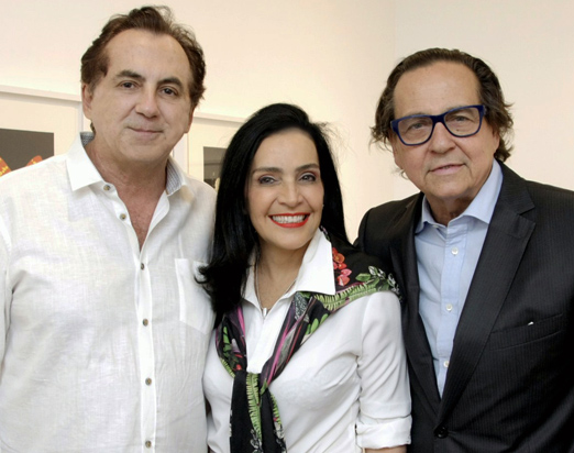 Ricardo Rique, Liliana Rodriguez e Nestor Rocha