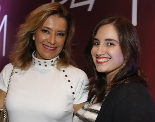 Silvia Vinhas e a filha Isabela