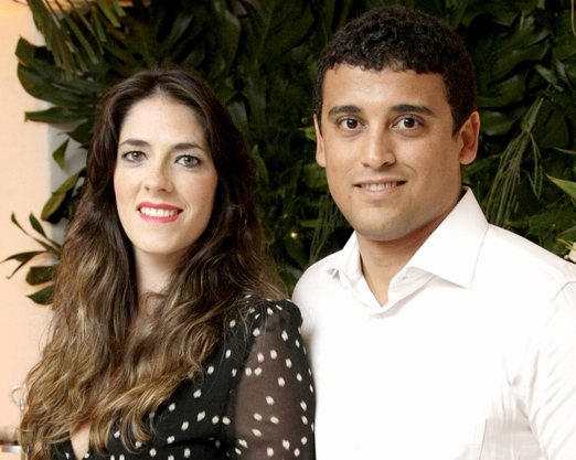 Tuane Villela e Felipe Braga