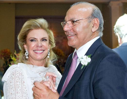 Valéria Gollo e Said Majzoub