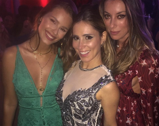 Yasmin Brunet, Juliana Neiva e Fabiola Cabral