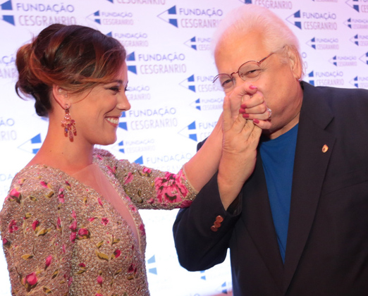 Adriana Birolli e Carlos Alberto Serpa