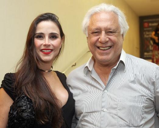 Alexandra Martins e Antonio Fagundes