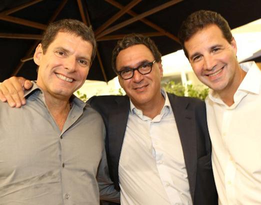 Alexandre Accioly, Rogério Fasano e Sérgio Pessoa