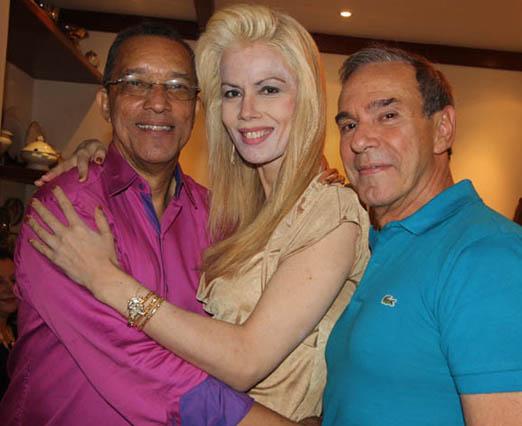Amaro Leandro Barbosa, Giovanna Priolli e Sergio Carvalhal
