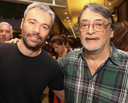 Angelo Paes Leme e Walter Lima Junior