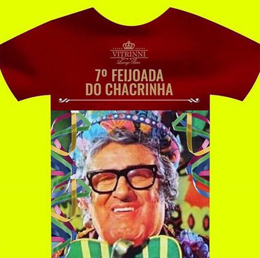 Camiseta da Feijoada do Chacrinha