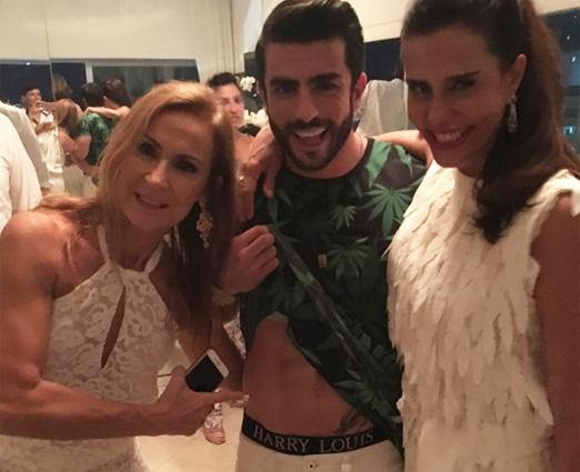 Carla Lubisco, Harry Louis e Narcisa Tamborindeguy
