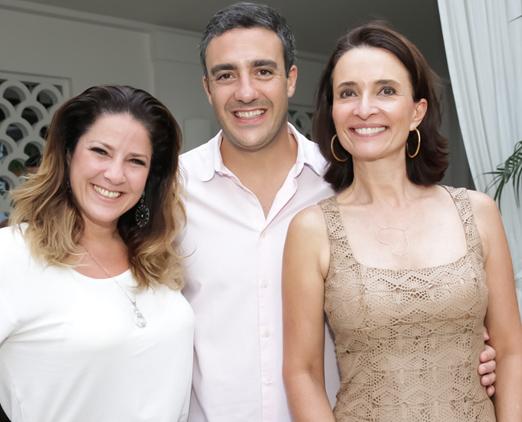 Christiane Pelajo, Fernando Sita e Andrea Natal