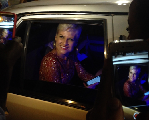 Cintia Lopes, cover da Xuxa