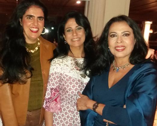 Claudia Camara, Tatiane Giuliani e Maria Luiza Mendonça
