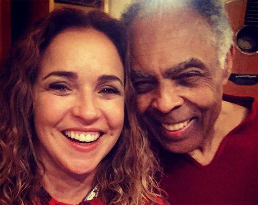 Daniela Mercury e Gilberto Gil