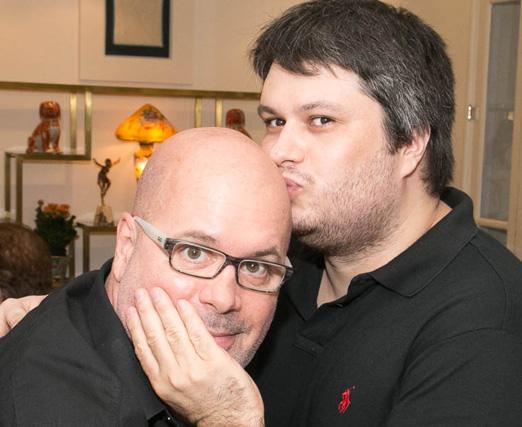 Eder Meneghine e Claudio André de Castro