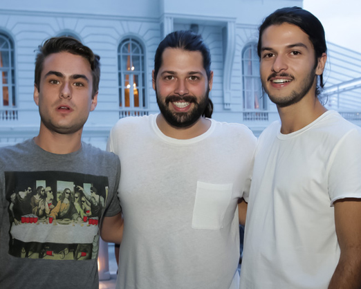 Fabiano Doyle, Thomas Azulay e Patrick Doering