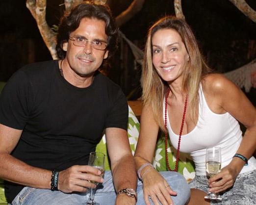 Fausto Ferraz e Patrícia Machado