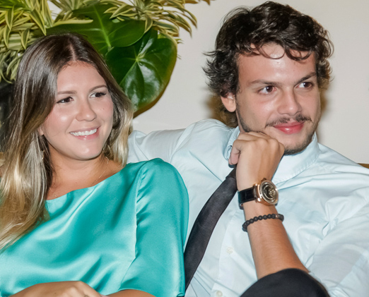 Fernanda Raunheitti e Newton Rique