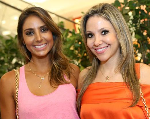 Flávia Sampaio e Alessandra Amaral