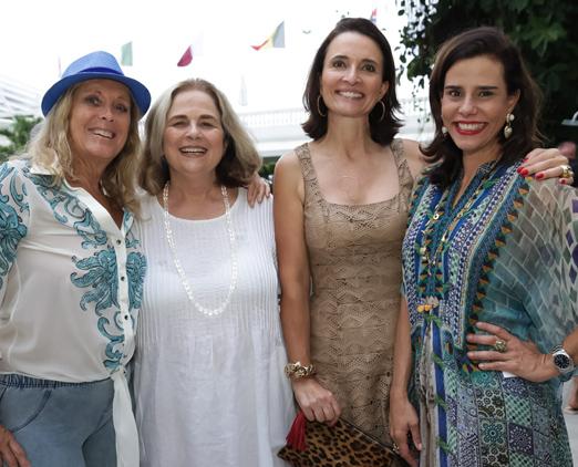 Giovanna Deodato, Hildegard Angel, Andrea Natal e Narcisa Tamborindeguy