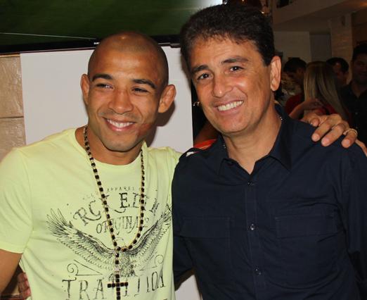 José Aldo e Bebeto