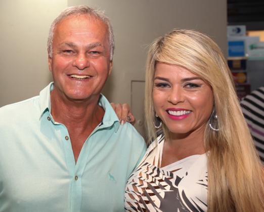 Kadu Moliterno e Cristianne Rodriguez