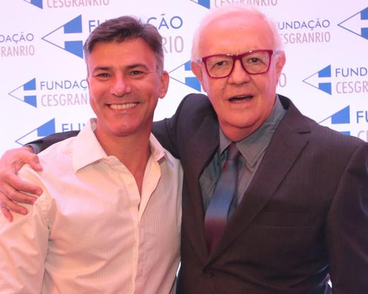 Leonardo Vieira e Ney Latorraca