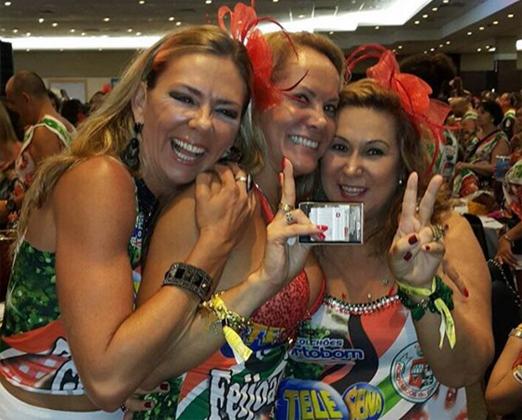 Márcia Veríssimo, Ana Lucia Coutinho e Theresa Macedo