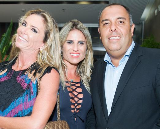 Márcia Veríssimo, Ana Paula Barbosa e Marcos Braz
