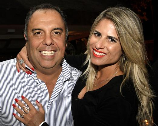 Marcos Braz e Ana Paula Barbosa