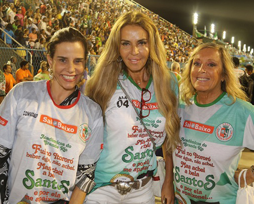 Narcisa Tamborindeguy, Nina Stevens e Giovanna Deodato
