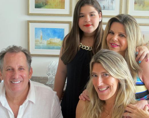 Oscar, Naely, Cecilia e Alessandra