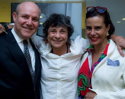 Paulo Muller, Cristina Granato e Narcisa Tamborindeguy