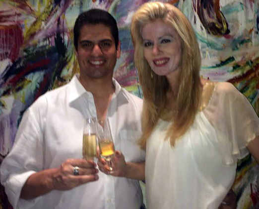 Rodrigo Raposo e Giovanna Priolli