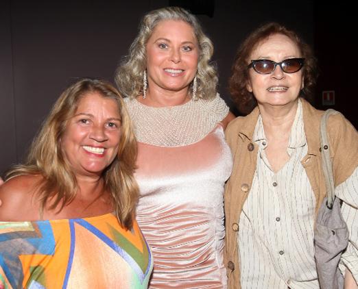 Tassia Camargo, Vera Fischer e Joana Fomm