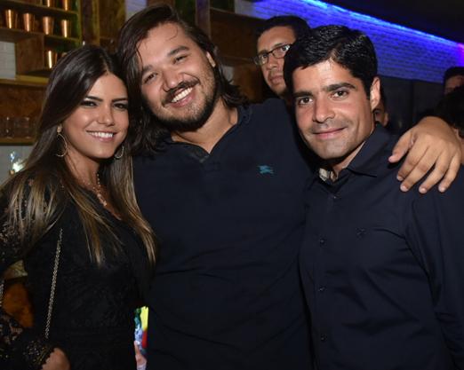 Tatá Canhedo, Dudu Barros e ACM Neto
