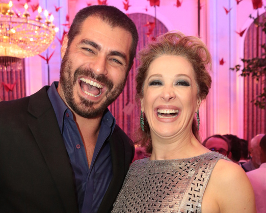 Thiago Lacerda e Claudia Raia