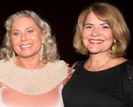 Vera Fischer e Sylvia Bandeira