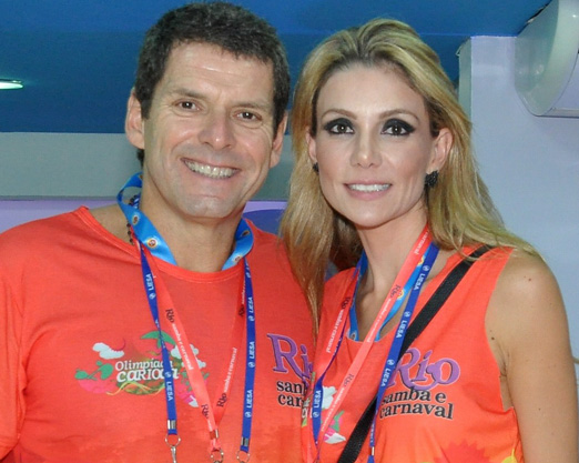 Alexandre Accioly e Renata Padilha