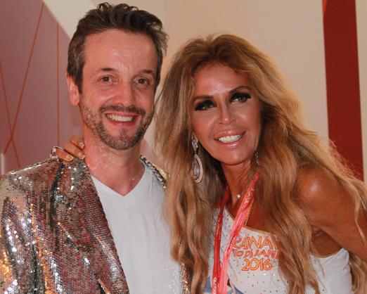 Alexis de Vaulx e Nina Stevens