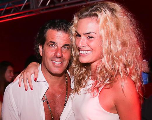 Álvaro Garnero e Cecilia Gaburro