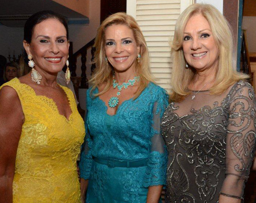 Beth Pinto Guimarães, Manoela Ferrari e Alda Soares