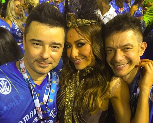 Carlos Tufvesson, Sabrina Sato e André Piva