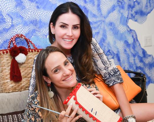 Carol Arrigoni e Lizandra Souto