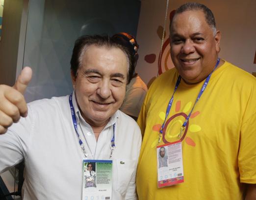 Chico Recarey e Hugo Clarinda
