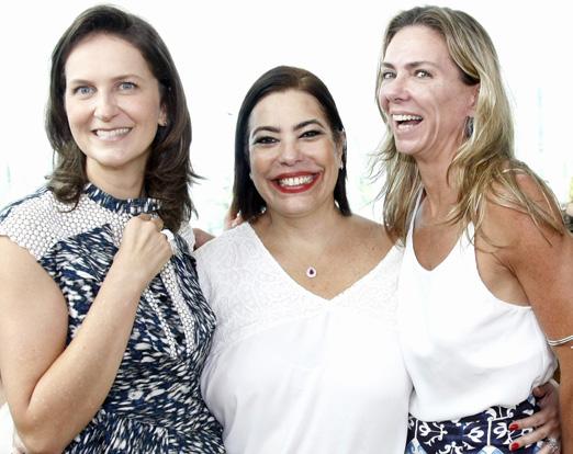 Chris Pinheiro Guimarães, Claudia Cury e Márcia Veríssimo